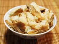 舞茸の混ぜ込みご飯